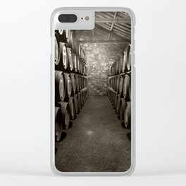 Barrels of Porto Clear iPhone Case