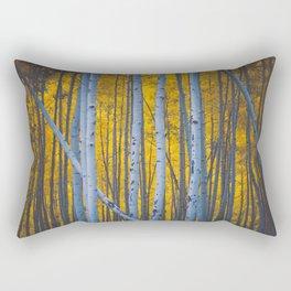 Aspen Lean // Crested Butte, CO Rectangular Pillow