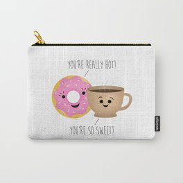 Donut and Coffee  |  Really Hot and So Sweet Carry-All Pouch