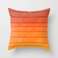 sunrise Throw Pillows featuring Sunrise by Diogo Verissimo