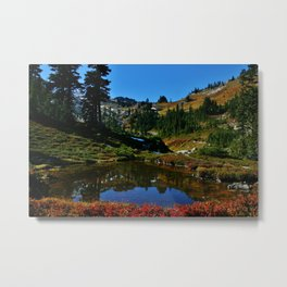 The Valley of Heaven Metal Print