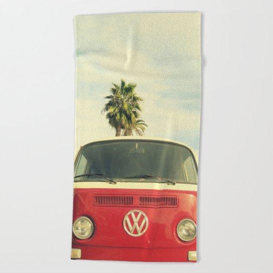 VW Coastin' Beach Towel