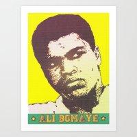 Muhammed Ali Art Print