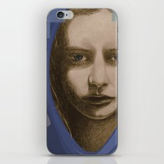 Real girl, digital world iPhone & iPod Skin