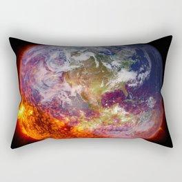 Global Warming Climate Change Rectangular Pillow