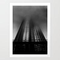 Downtown Toronto Fogfest No 11 Art Print
