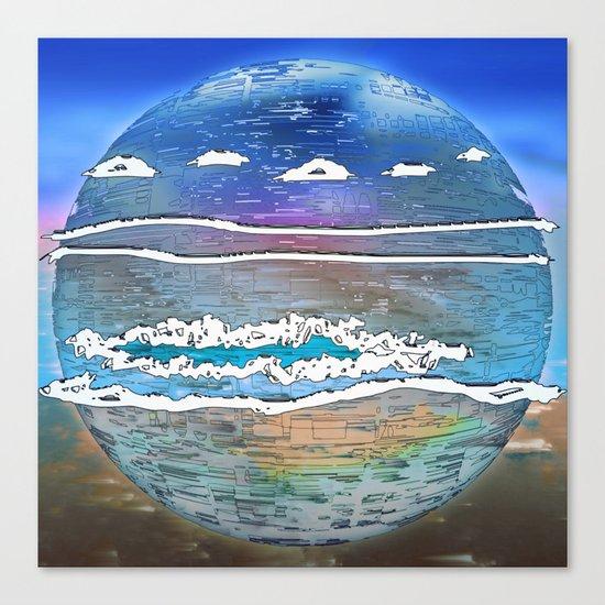 Embrace the World - Archipelago 20-01-17 Canvas Print