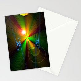 Light show 3 Stationery Cards