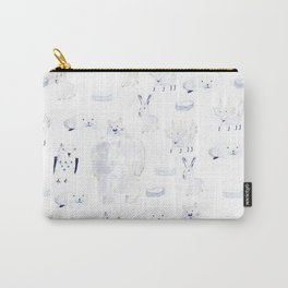 North Pole Animals Carry-All Pouch