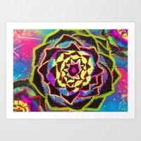 Organic Mandala Art Print