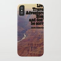 kerouac iPhone & iPod Cases featuring Kerouac by muffa