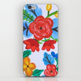 Slavic Folklore Multi-colored Wall Art iPhone Skin