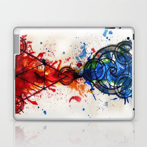 abstract alchemy Laptop & iPad Skin