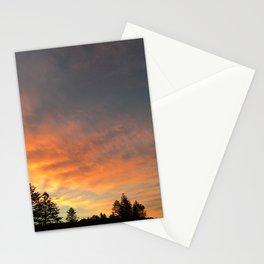 Beautiful orange/yellow sunset Stationery Cards