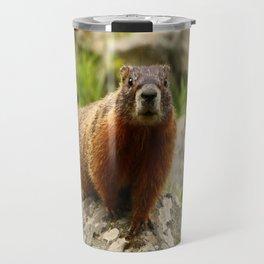 On The Rocks Marmot Travel Mug