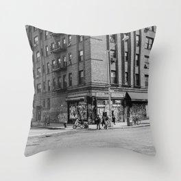 East Village Corner III Throw Pillow