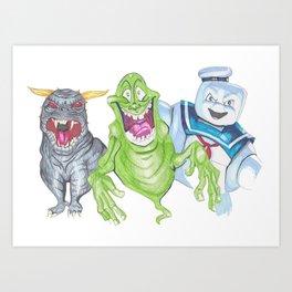 Lifebusters Art Print