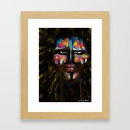Human colors by Jana Sigüenza Framed Art Print