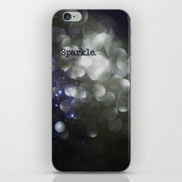 sparkle iPhone & iPod Skins featuring sparkle by Bonnie Jakobsen-Martin