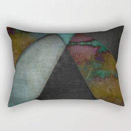 """Grunge metal pattern"" Rectangular Pillow"