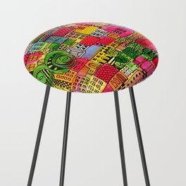Color Town Counter Stool