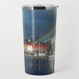 You Can't Have A Rainbow Without A Little Rain Travel Mug