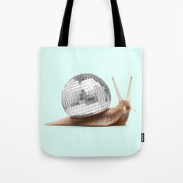 DISCO SNAIL Tote Bag