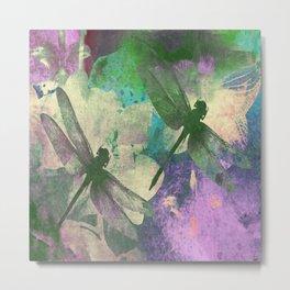 Dragonflies ZZ Metal Print