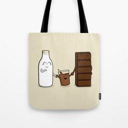 Milk + Chocolate Tote Bag
