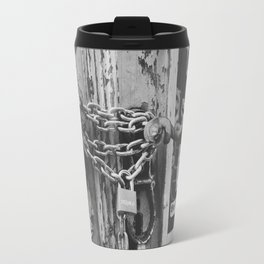 The Chain and The Door Travel Mug