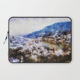 Snowy Heidelberg Laptop Sleeve