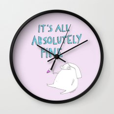 absolutely fine Wall Clock