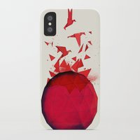 origami iPhone & iPod Cases featuring Origami by Sumalab