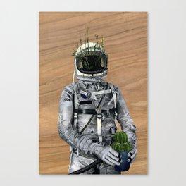 Cacti | Spaceman No:1 Canvas Print