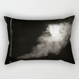 Nightly smoke Rectangular Pillow