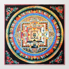 Mandala Buddhist 8 Canvas Print