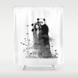 Lonely, Lonely... Shower Curtain