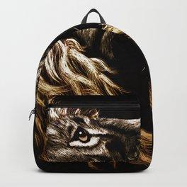 Lion Profile Backpack