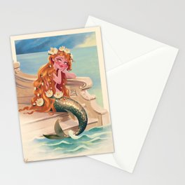 Classic Fairy Tale Mermaid Stationery Cards