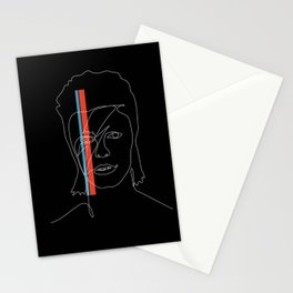 Lines of Stardust Stationery Cards