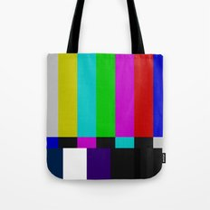 SMPTE Color Bars (as seen on TV) Tote Bag