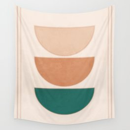 Minimal Geometric Shapes 105 Wall Tapestry