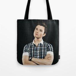 Chris Colfer Tote Bag
