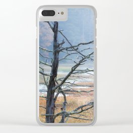 Forgotten Yesterday Clear iPhone Case