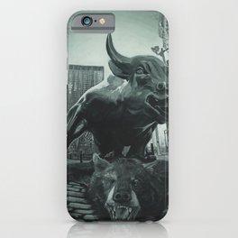 Triumph of the Bull iPhone Case