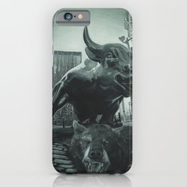 Triumph of the Bull iPhone Case