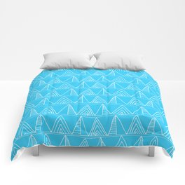 Triangles- Simple Triangle Pattern for hot summer days - Mix & Match Comforters