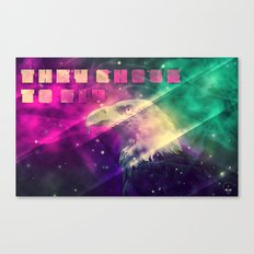 They chose to fly Canvas Print