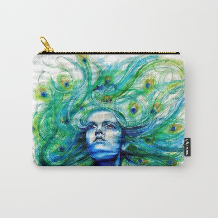 Metamorphosis-peacock Carry-All Pouch