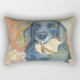 Want to Play Fetch??? Rectangular Pillow